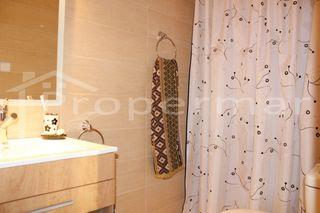 baño reformado con ducha