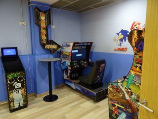 Sala de juegos de máquinas