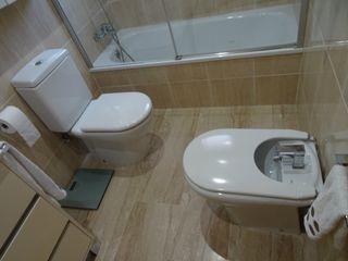 Baño en Habitación Suite
