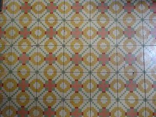Mosaics hidràulics 1ª planta