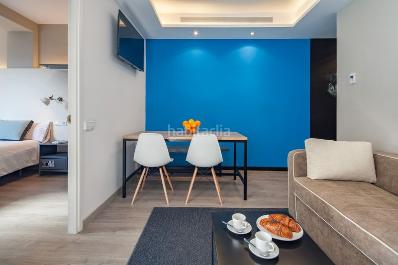 Salón comedor. Holiday lettings apartment in carrer industria in Barcelona