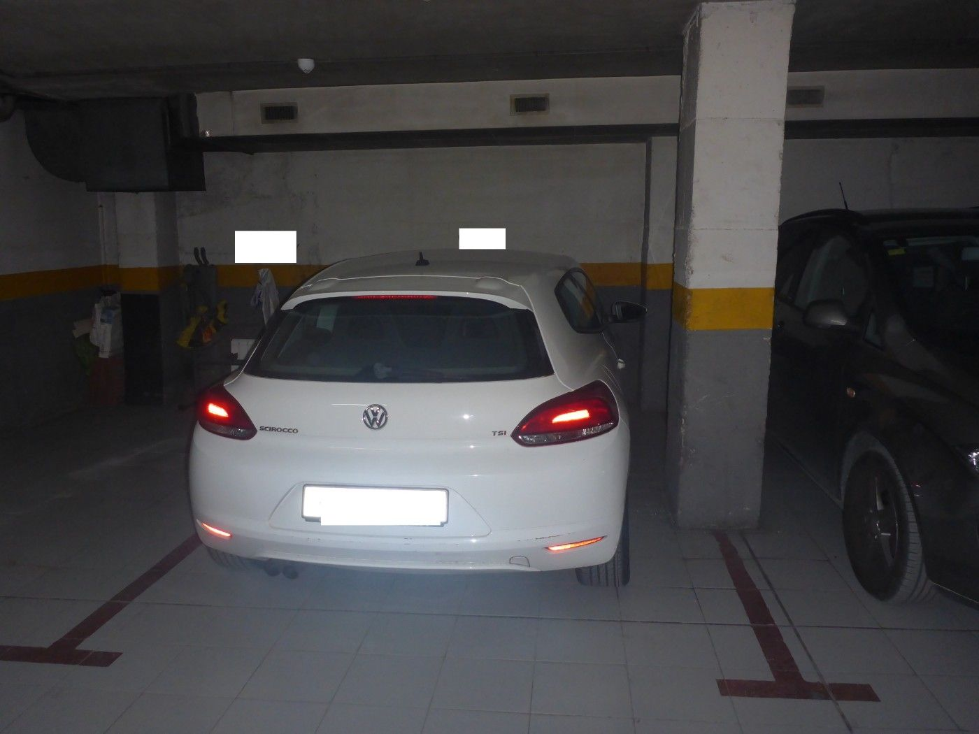 Autoparkplatz in Carrer Ancianitat