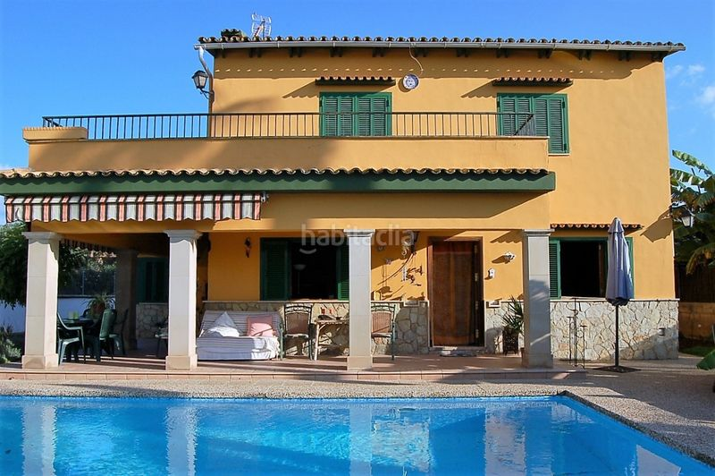 Piscina. Chalet with fireplace heating parking pool in Sa Cabaneta Marratxí
