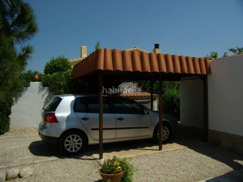 parking. Chalet mit kamin heizung parking in Ulldecona