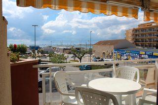 Apartament  Carrer mercè rodoreda. Apartamento en roses con vistas al puerto y al mar