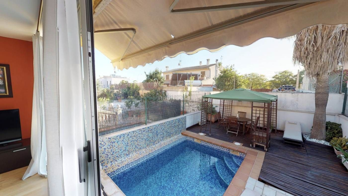 Casa adossada a Son Cladera. Excelente adosado en palma con piscina privada, 4 habitaciones y
