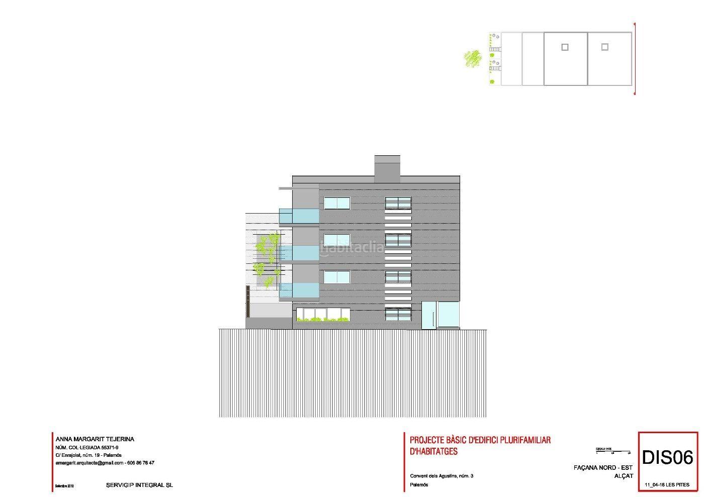 Carrer Convent Dels Agustins, 3 Edificio viviendas New building Palamós