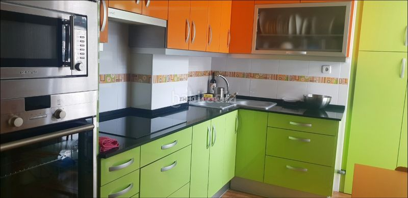 Cocina. Flat with heating parking in Morell (El)