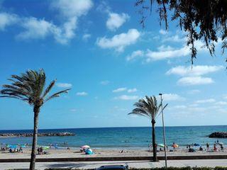Piso  Playa de cunit. Piso en primera linea playa