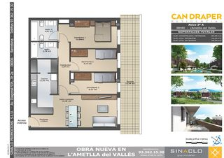 Penthouse in Carrer Mestre Ramon Capell, 22