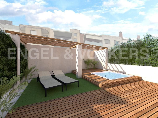 Piano terra in Roses-Castellbell. Obra nueva con jardín