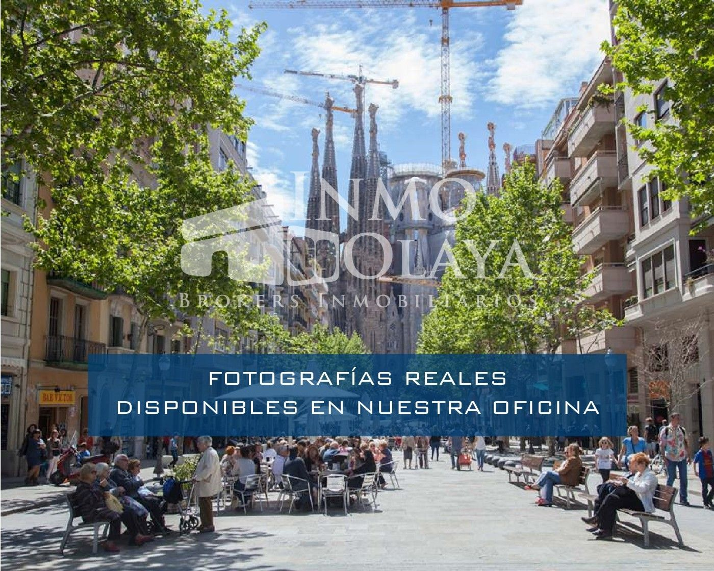 Pas-de-porte Local commercial  Sagrada familia. Take away con salida de humos