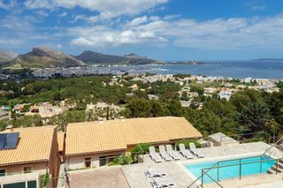 Semi detached house  Residencial - puerto de pollensa. Adosado con vistas al mar