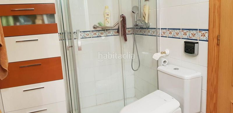 bathroom. Apartment with parking pool in Ses Salines