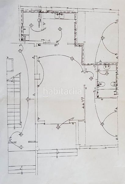 blueprints. Apartment with parking pool in Ses Salines
