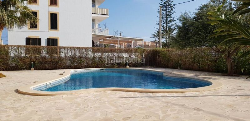 pool. Apartment with parking pool in Ses Salines