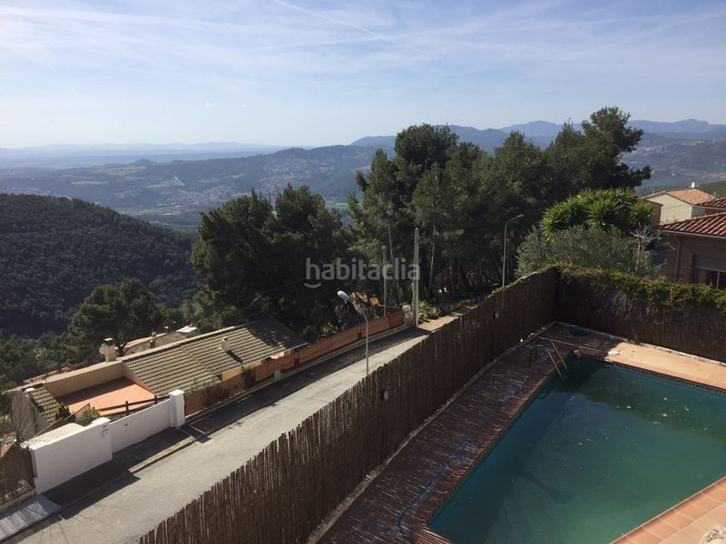 Piscina. Chalet with heating parking pool in Ametlla del Vallès (L´)