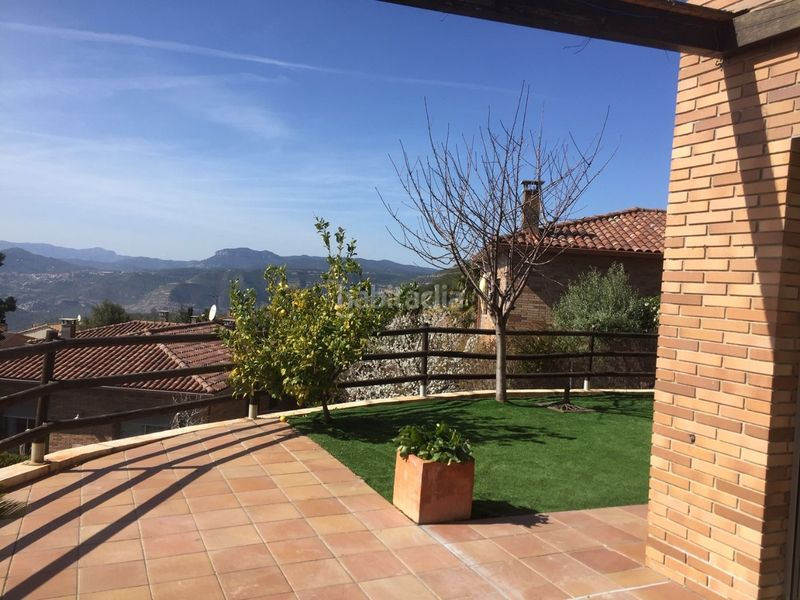 Terrazas. Chalet with heating parking pool in Ametlla del Vallès (L´)
