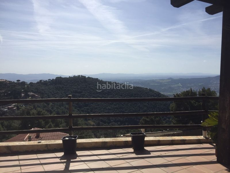 Vistas. Chalet with heating parking pool in Ametlla del Vallès (L´)