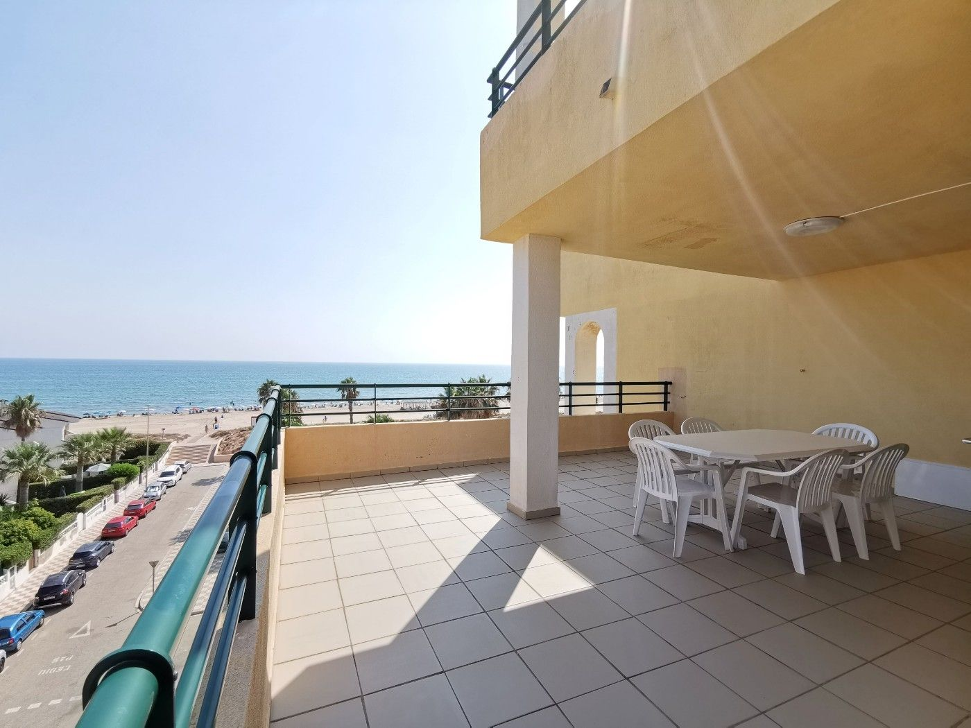 Appartement  Playa de xeraco. Apartamento con vistas al mar