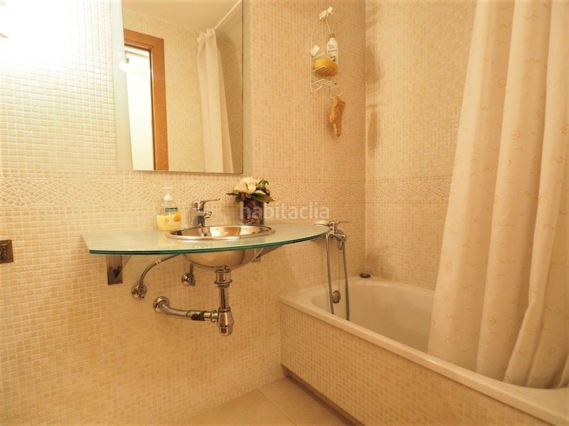 Baño. Appartement mit parking pool in Centre Torredembarra