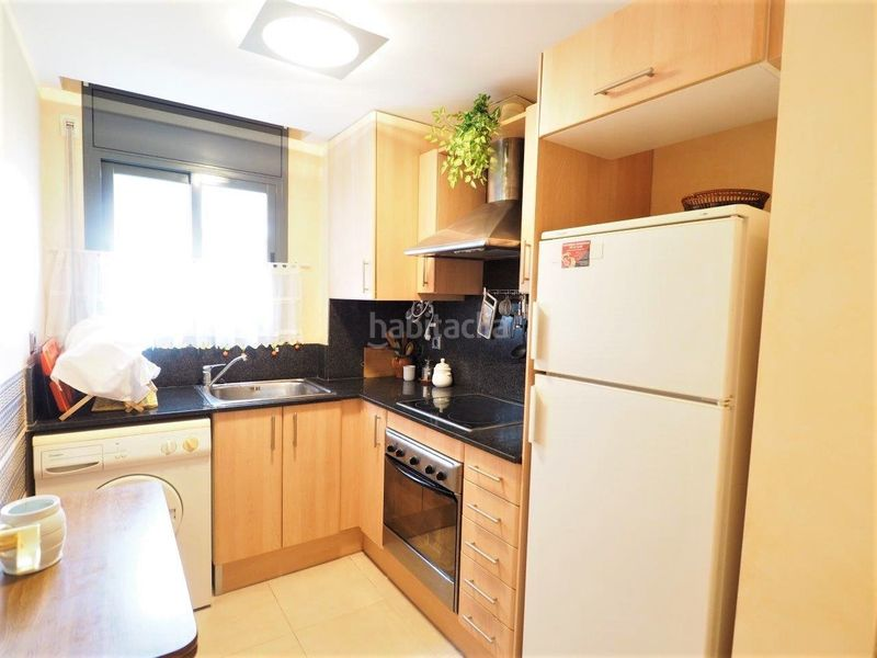 Cocina equipada. Appartement mit parking pool in Centre Torredembarra