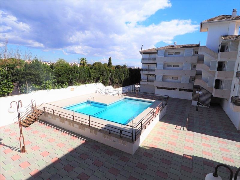 Piscina comunitaria. Appartement mit parking pool in Platja-Els Munts Torredembarra
