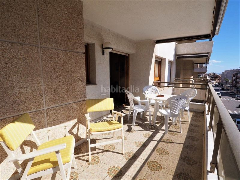 Terraza. Appartement mit parking pool in Platja-Els Munts Torredembarra