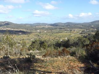 Rural plot in Sant Antoni de Portmany. Terreno esplendidas vistas