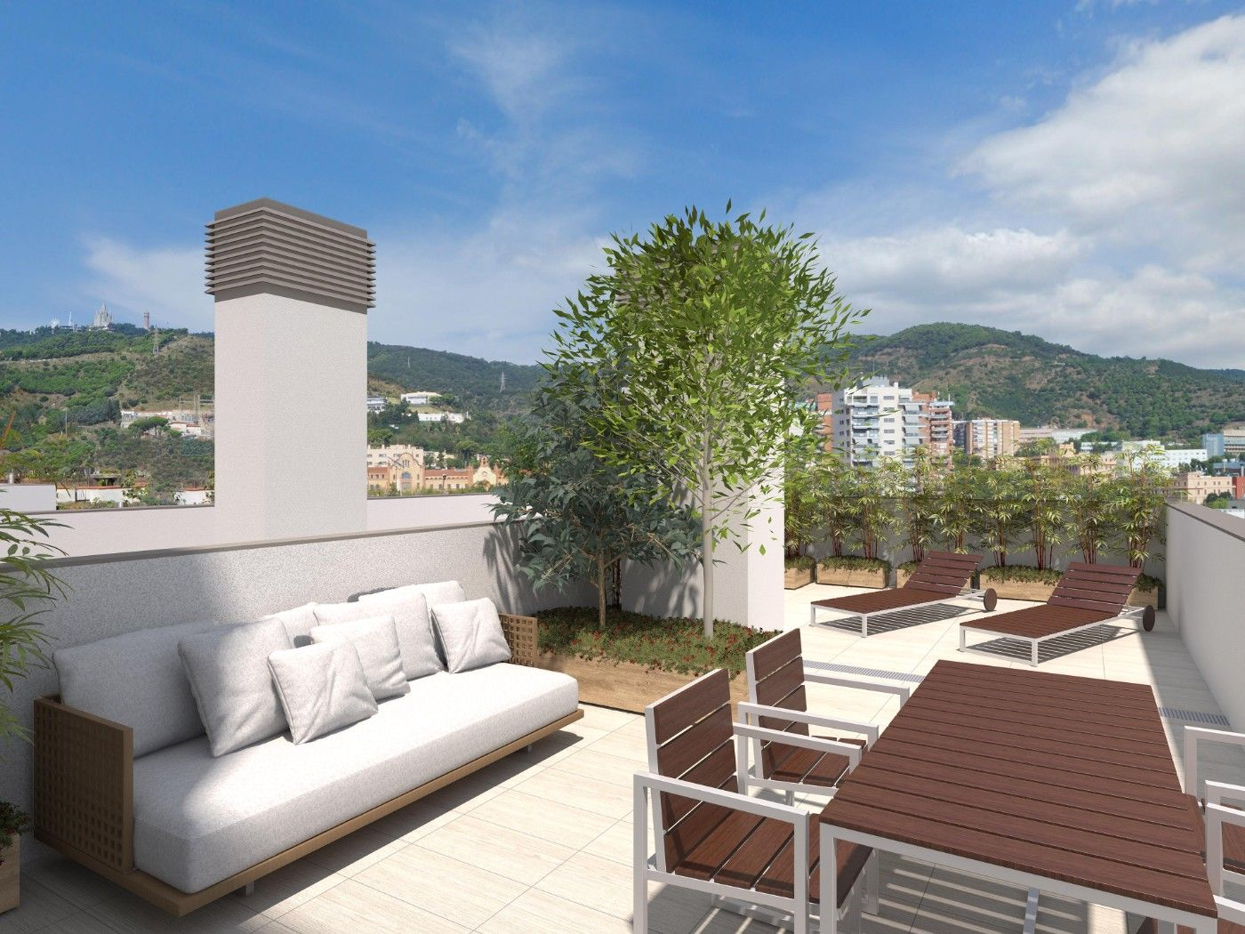 Penthouse in Carrer arenys, 58. Obra nueva