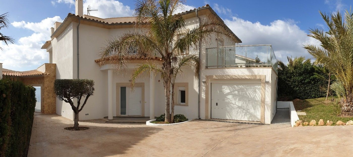Chalet in Carrer chopin, 12. Vallgornera chalet vistas mar