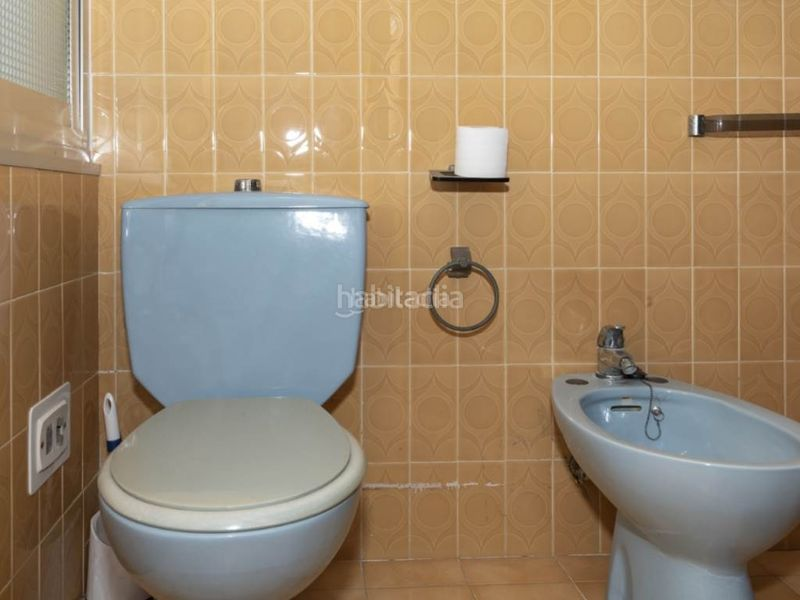 baño 1. Penthouse with fireplace in Sant Antoni Cullera