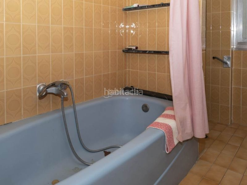 baño 2. Penthouse with fireplace in Sant Antoni Cullera