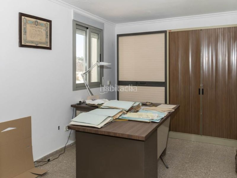 despacho. Penthouse with fireplace in Sant Antoni Cullera