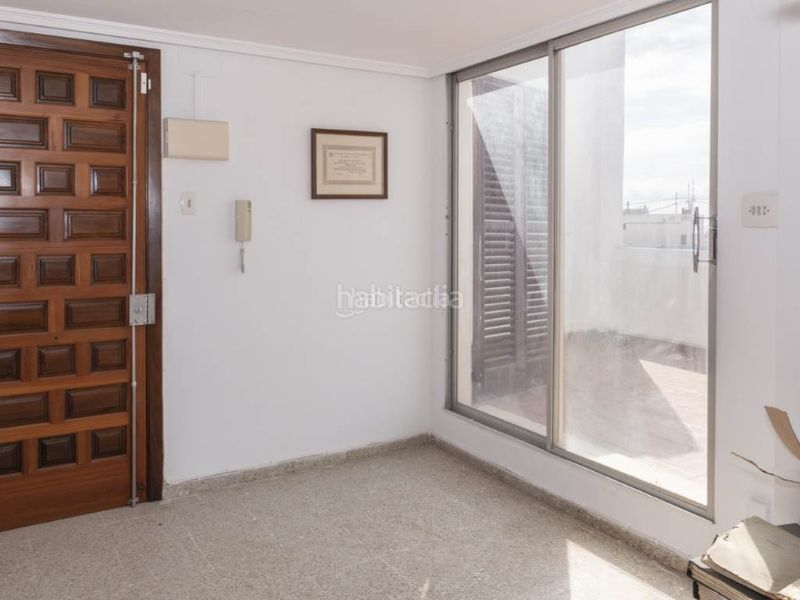 dormitorio superior 1. Penthouse with fireplace in Sant Antoni Cullera