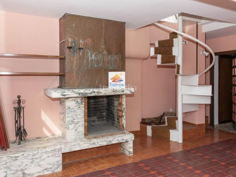 salón 2. Penthouse with fireplace in Sant Antoni Cullera