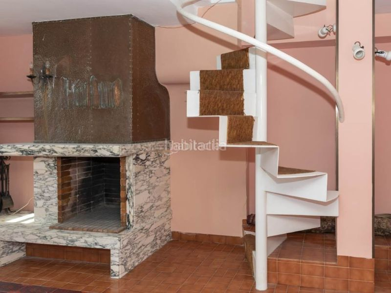 salón 6. Penthouse with fireplace in Sant Antoni Cullera