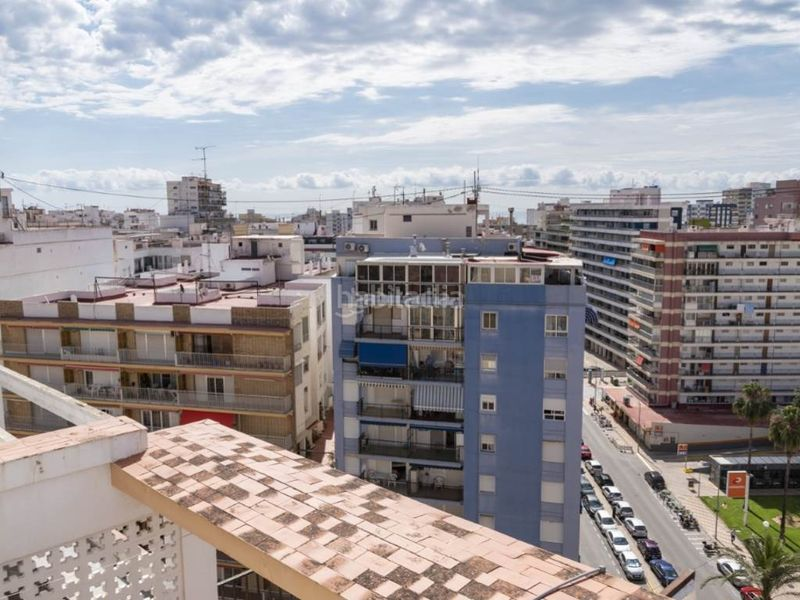 vistas dormitorio superior 1. Penthouse with fireplace in Sant Antoni Cullera