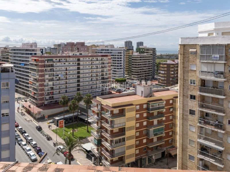 vistas dormitorio superior 2. Penthouse with fireplace in Sant Antoni Cullera