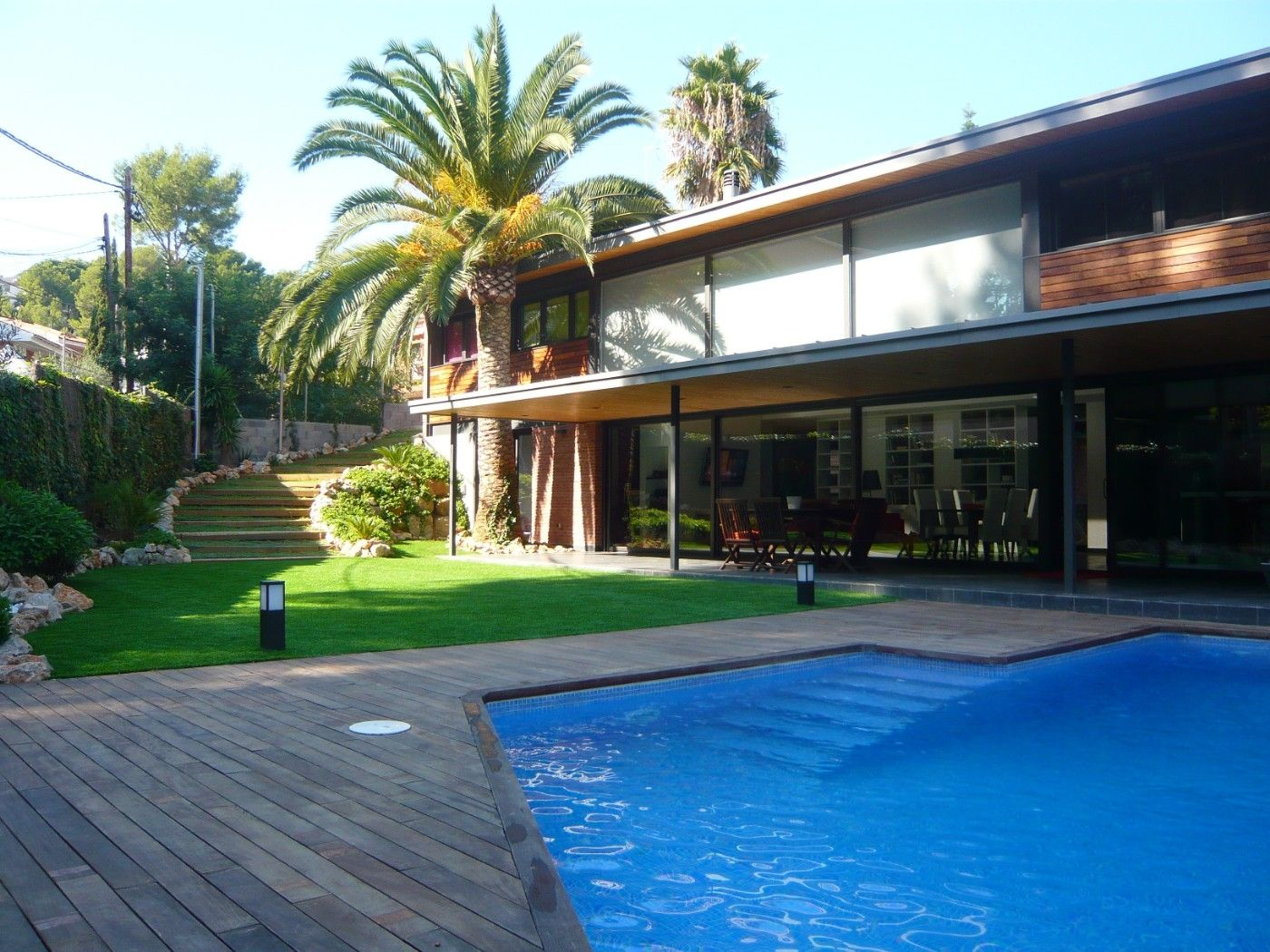 Holiday lettings House  Paseig del bosc. Exclusiva y moderna con piscina