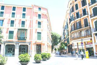 Zweistöckige Wohnung Carrer Colom. Duplex-appartment in miete in baleares palma de mallorca, la seu