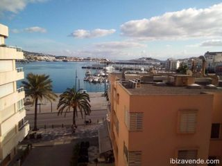 Rent Flat in S´Eixample-Can Misses. Fantástico piso en ibiza con vistas al mar, al puerto y al casco