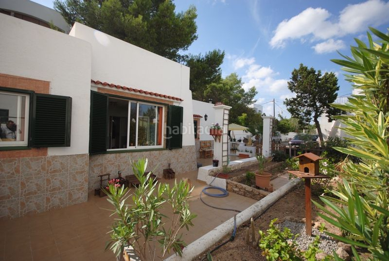 Jardín . House with fireplace heating parking pool in Sant Agustí-Cala de Bou Sant Josep de sa Talaia