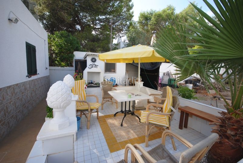 Terraza. House with fireplace heating parking pool in Sant Agustí-Cala de Bou Sant Josep de sa Talaia
