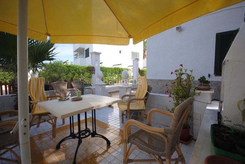 Terraza . House with fireplace heating parking pool in Sant Agustí-Cala de Bou Sant Josep de sa Talaia