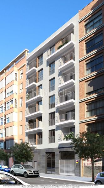 Edifici habitatges d´Obra nova a   Marxalenes Valencia Edificio Saïdia ´Amplias viviendas´