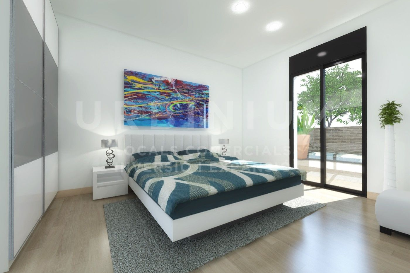 Appartement à Carrer saragossa, 14. Obra nueva