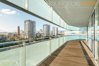 Apartament a Diagonal Mar - La Mar Bella. Espectacular piso de 3 habitaciones con gran terraza en 1ª línea