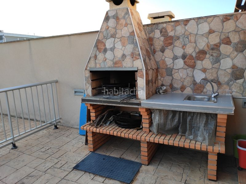 Barbacoa. Towny house with fireplace heating parking pool in Morell (El)