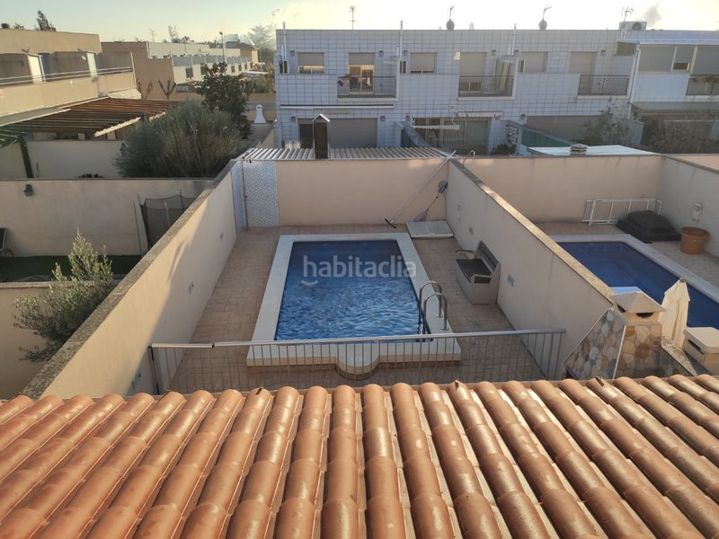 Piscina privada. Towny house with fireplace heating parking pool in Morell (El)